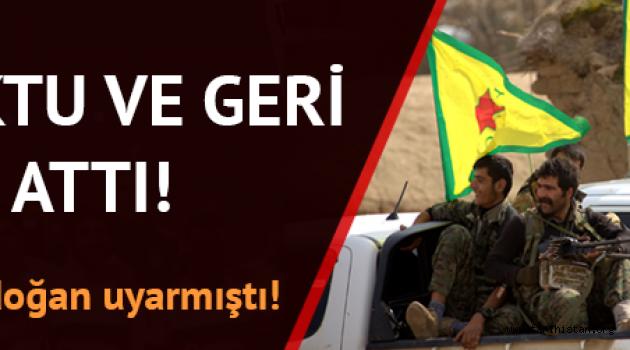 Esed'le PKK/YPG ittifakı bozuldu