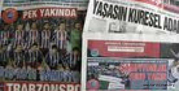 Fenerbahçe kümeye, kupa Trabzon'a!