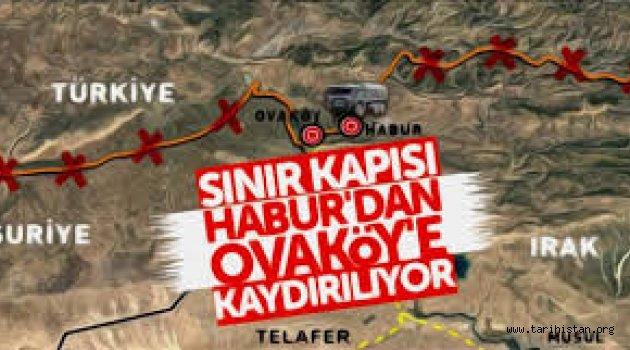 Habur Sınır Kapısı Barzani'den alınıyor