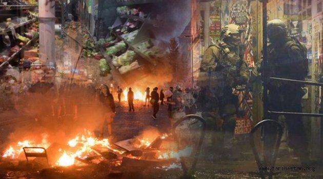 Hamburg yağmalanıyor: Polis terör estiriyor!