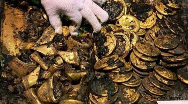Hunlara ait 2000 yıllık hazine bulundu!.