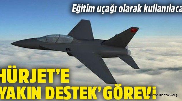'Hürjet'ler yeni nesil eğitim uçakları olarak kullanılacak