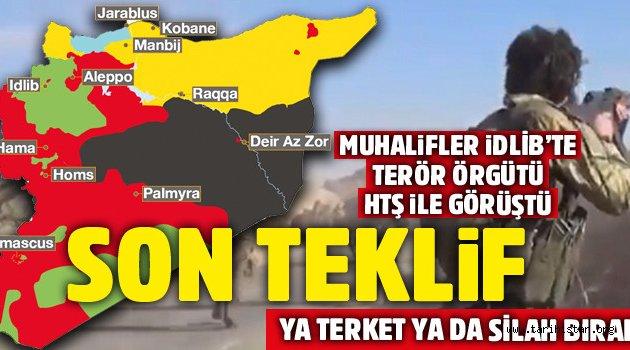 İDLİP'i terk edin. Türkler geliyor!