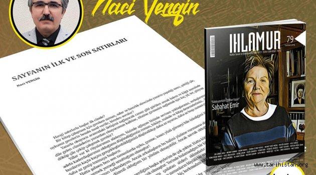 Ihlamur Dergisi Haziran 2019 sayısı okuyucuyla buluştu