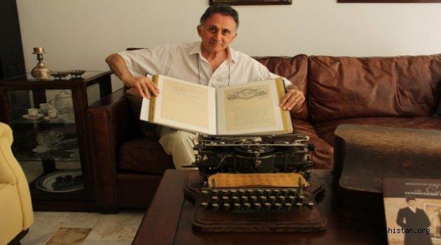 İlk Osmanlıca klavyenin film gibi öyküsü