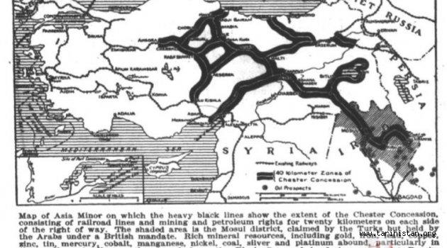 İngiliz arşivlerinden çıktı! Türkiye haritası....