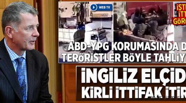 İngiltere elçisinden YPG bombası