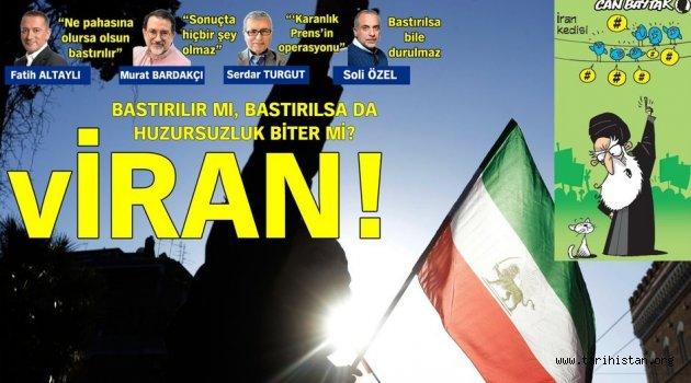 İran'daki protestoların 6'ncı gününde şiddet tırmanıyor!