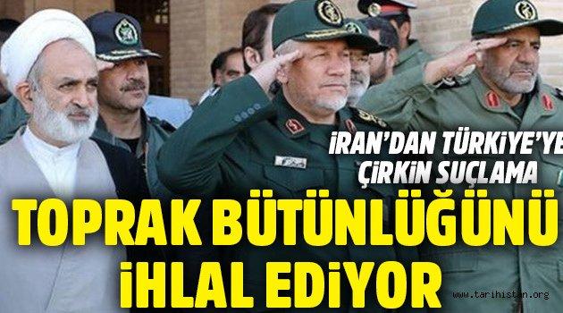 İran'dan Türk askerine 'işgalci' suçlaması