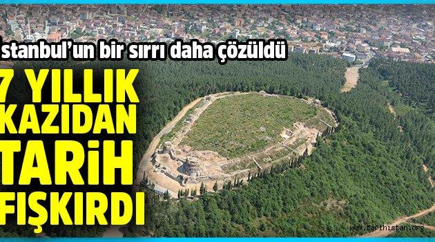İstanbul'un bir sırrı daha çözüldü: 7 yıllık kazıdan tarih fışkırdı