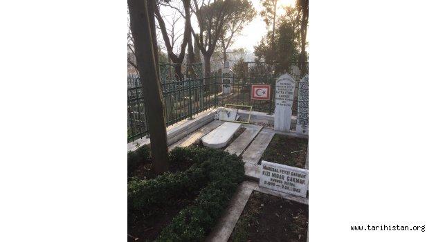 Mareşal Fevzi Çakmak'ın Mezarı Tahrip Edildi