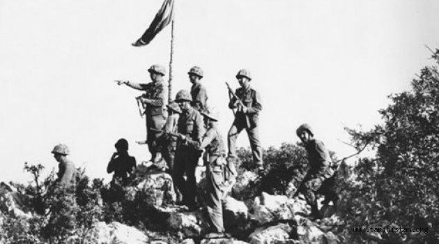 Kıbrıs Barış harekatının  44. yılı kutlu olsun