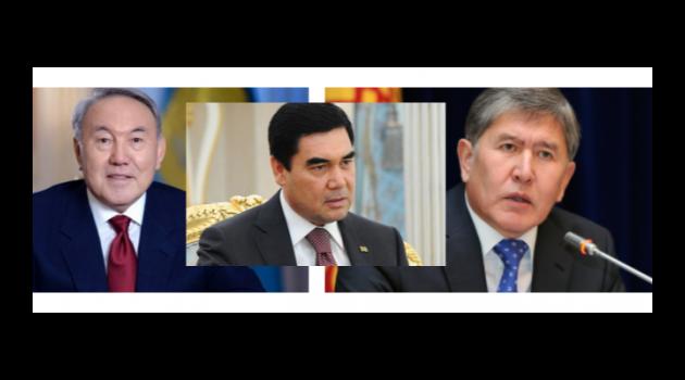 Kırgızistan, Kazakistan ve Türkmenistan'dan 3'lü Zirve!