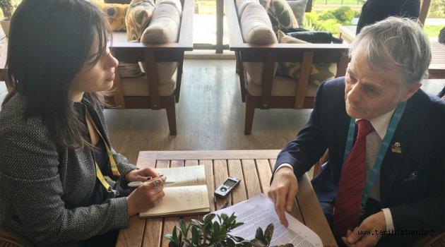 Kırım Tatarlarının lideri Mustafa Abdülcemil Kırımoğlu