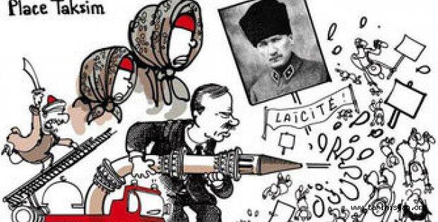 Le Monde'den tepki çeken karikatür!
