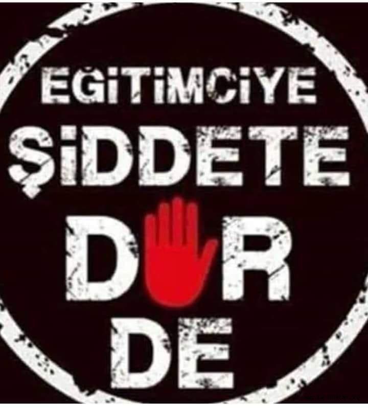 BİR ÖĞRETMENİN PROTESTOSU  BİZ ÖLDÜKÇE, SİZ DE ÖLECEKSİNİZ!