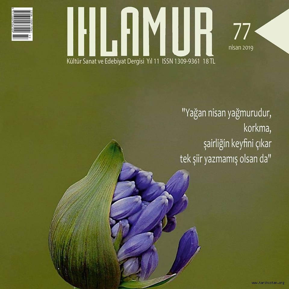 Ihlamur Dergisinin Nisan sayısı çıktı!