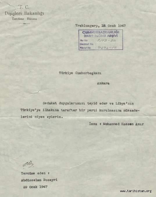 LİBYA İŞİ / Prof. Dr. Nurullah Çetin