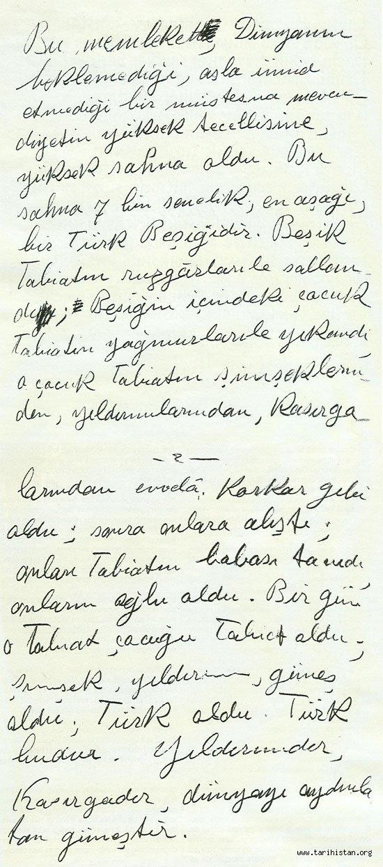 Türk nedir? (Atatürk'ün verdiği cevap)