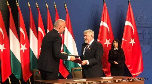 """Macaristan Türkiye arasında """"Kültürel İşbirliği Anlaşması"""" imzalandı"""