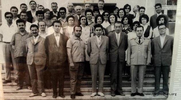 Manisa Lisesi 1950 Yılı Fotoğrafı