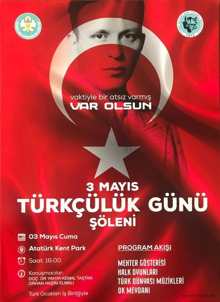 Manisa'da 3 Mayıs Türkçülük Günü Programı