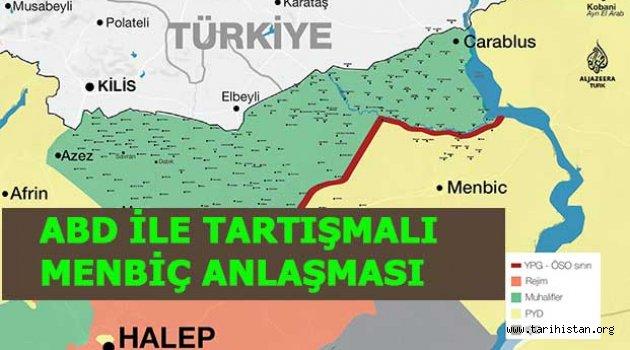 Menbiç'i için Türk ABD arasında masada çözüm