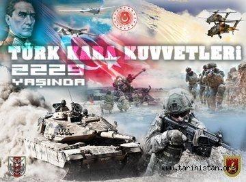 Milli Savunma Bakanı Akar'dan Kara Kuvvetleri'nin 2229. kuruluş yıl dönümü mesajı