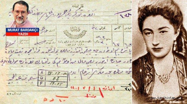 Murat Bardakçı:Abdülhamid'in kızkardeşinin Mustafa Kemal'e mektubu