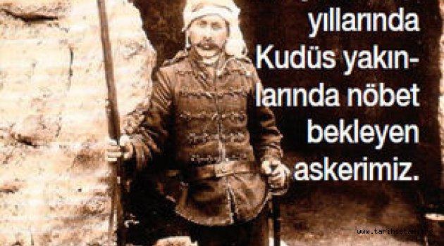 Murat Bardakçı Yazdı: 1917'de terkettiğimiz Kudüs'te sandıklar dolusu altını toprağa gömüp bırakmıştık