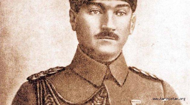 Mustafa Kemal Paşa'ya verilen Samsun talimatının Sultan Vahideddin imzalı orijinal nüshası