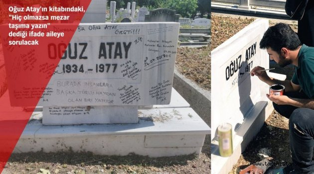 Oğuz Atay'ın mezar taşı