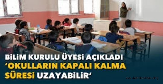 Okulların Kapalı Kalma Süresi Uzayabilir