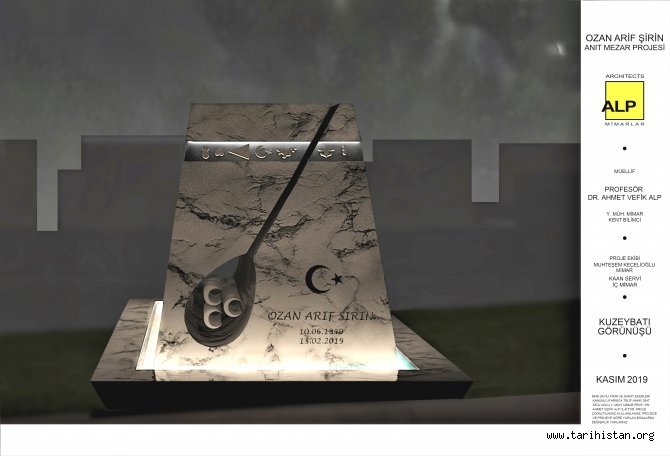 Ozan Arif'e anıt mezar yapılıyor.