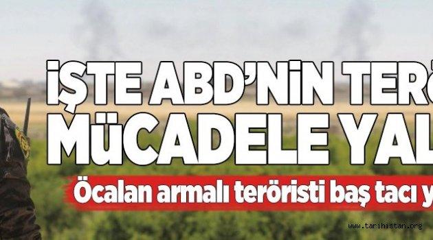 PKK'lı terörist ABD ordusunun dergisine kapak oldu.