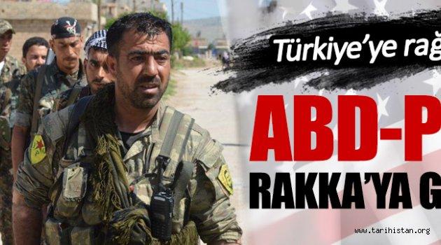 PYD/PKK Rakka'ya saldırıyor!