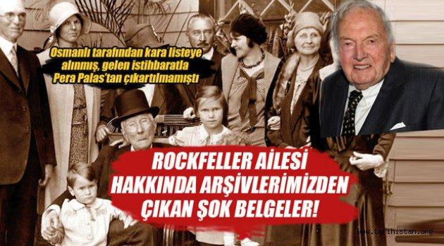 Rockefeller ailesi hakkında şok belgeler!
