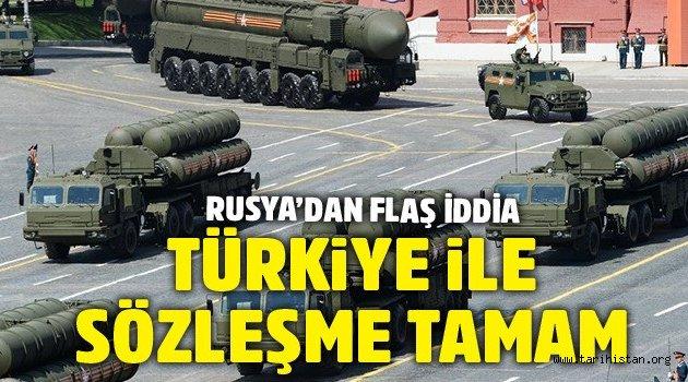 Rus CEO'dan S-400 iddiası: Türkiye ile uzlaşı sağlandı