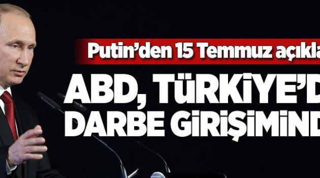 Rusya Devlet Başkanı Putin'den 15 Temmuz açıklaması.