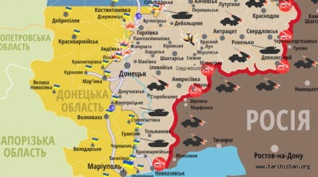 """Rusya Kırım'a karadan """"koridor"""" açmaya hazırlanıyor"""