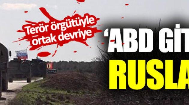 Rusya  Menbiçte PKK ile ortak devriye