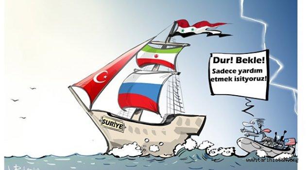 'Rusya, Türkiye ve İran ittifakı