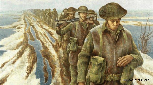Rusya'dan yola çıkan esir askerlerimiz