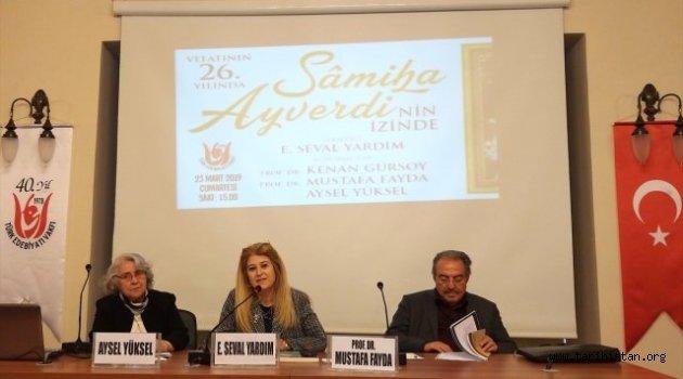 Samiha Ayverdi Anıldı