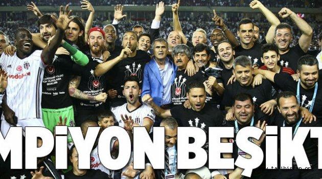 Şampiyon Beşiktaş.