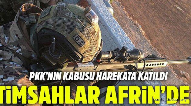 SAT, SAS ve Timsahlar Afrin'e