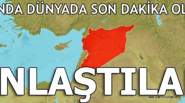 Suriye için kritik anlaşma!