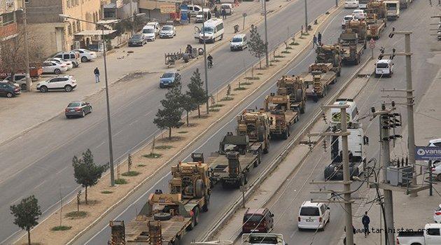 Suriye'de Afrin ilk aşama