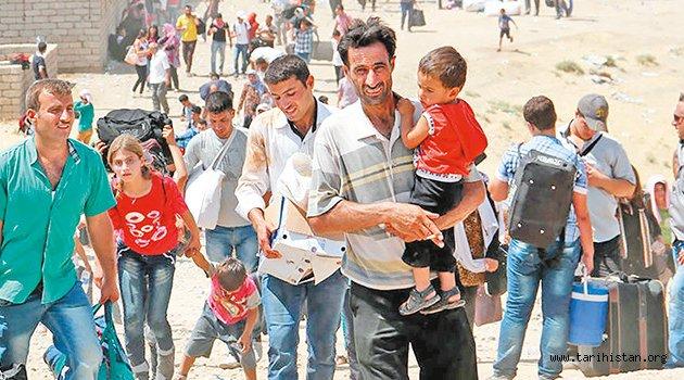 Suriyeliye hem yardım hem kimlik