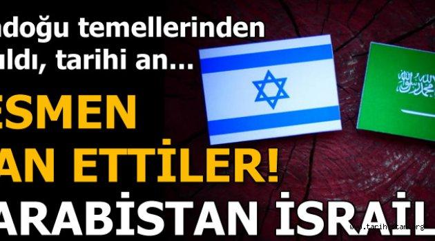 Suudi Arabistan İsrail'e yardım ediyor!